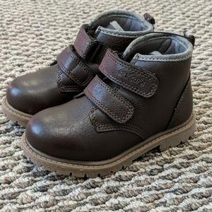 Carter's Toddler Boy Dark Brown Boots - Size 10